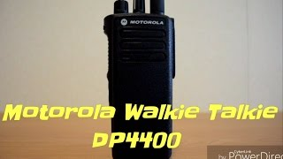 Motorola walkie talkie DP4400
