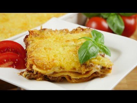 Lasagne wie beim Italiener Rezept I Lasagne Bolognese