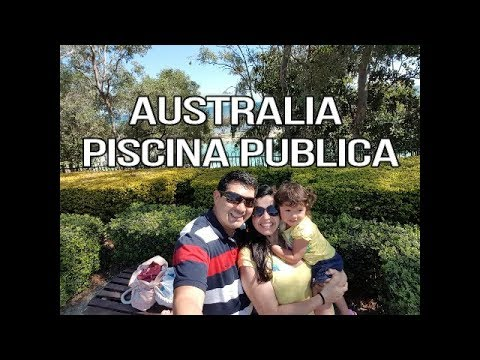 Australia Piscina Publica Australia Public Swimming Pool English Subtitles Cc Youtube
