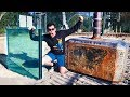 THOR'S HAMMER Vs. DOUBLE BULLETPROOF GLASS from 45m!: Who wins? Hammer or 100mm (4inch) bulletproof glass? BECOME A MEMBER ➤ http://bit.ly/HRmemberships  SUBSCRIBE ➤ http://bit.ly/SubHowRidiculous BUY NEW MERCH ➤ http://tidd.ly/8b33c00b  SOCIALS Instagram ➤ (@HowRidiculous): http://bit.ly/FollowHRonInsta Facebook ➤ http://bit.ly/HRFacey Twitter     ➤ (@howridiculous): http://bit.ly/HRTweety  What's the 44 Club you may ask? Well it all started in the outro of this video https://ascendents.net/?v=AyLPMhp7qbs where we wondered if anyone was still watching the video at that point, and to comment 44 (Scott's fave number) if they were. Brett then said 44 Club get on board and the rest is history. The 44Club is the official How Ridiculous fan club made up of people who love our videos and watch them right to the very end. We've even got 44 Club merch now! So yeh, that's the story. Pretty random but good fun at the same time.  We are passionate about seeing children released from poverty and we would love you to consider sponsoring a child with Compassion. We visited our sponsor children in the Philippines and were blown away by the difference that child sponsorship can make. To find out more about sponsoring a child right now, check out: http://cmpsn.co/howridiculous  A big thanks to the awesome crew at the Gravity Discovery Centre in Gingin for letting us use their 45m leaning tower for our own experiments. If you wanna head out there and check it out, it's not far from Perth. Western Australia: https://gravitycentre.com.au/leaning-tower/  Music by Chillhop: https://chillhop.lnk.to/listenCS  Pandrezz - Takin' You For a Ride (https://soundcloud.com/pandrezz)  For 44 Club fan mail or other items please send to:  How Ridiculous  PO Box 7045  Karawara WA 6152  Australia  EMAIL US: All 44CLUB/fan email ➤ 44club@howridiculous.org