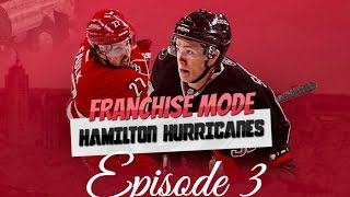 "NHL 17 FRANCHISE MODE: CAROLINA HURRICANES EP. 3 ""PLAYOFFS?! SEASON SIM!"""