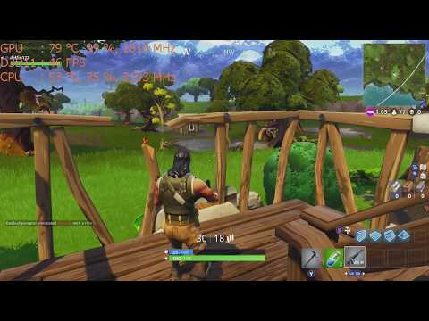 Fortnite 720p ; Epic & High settings on the Nvidia GT 1030