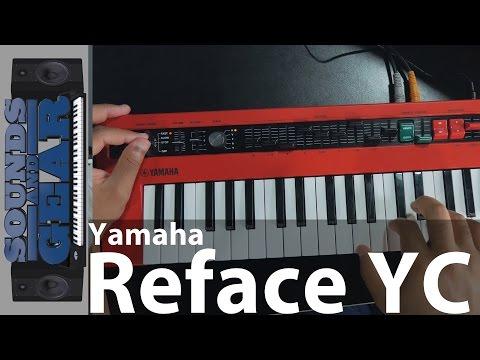 Review: Yamaha Reface YC Portable Combo Organ Synth @SoundsAndGear