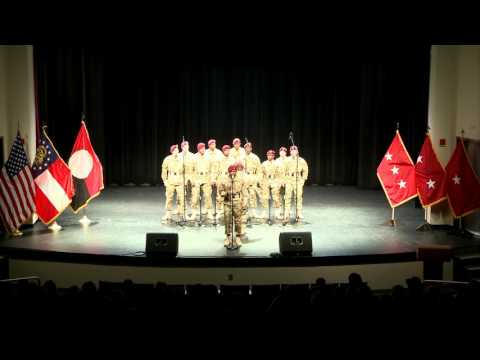 "The 82nd Airborne Division's ""All American"" Chorus Performance at Georgia Military College"