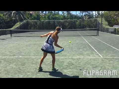 Day In Life Of Tennis Players , MIXED Doubles In FLORIDA Paradise