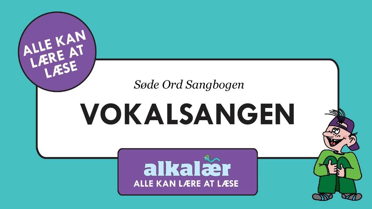 Vokalsangen fra SØDE ORD SANGBOGEN