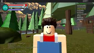 Roblox Foggy Island | The Forest =) #1