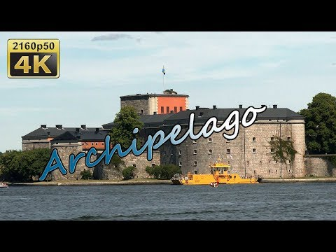 Excursion in the Archipelago to Vaxholm - Sweden 4K Travel Channel