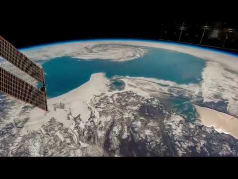ISS Timelapse - Sea of Okhotsk cyclone (10 Maggio 2015)