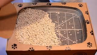 Одноразовый эко-туалет для котов Cat Box