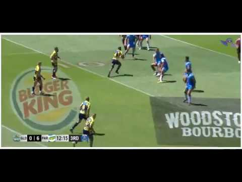 (HD) NRL Auckland Nines 2017 QF 2 Titans V Eels Game Highlights Rugby League