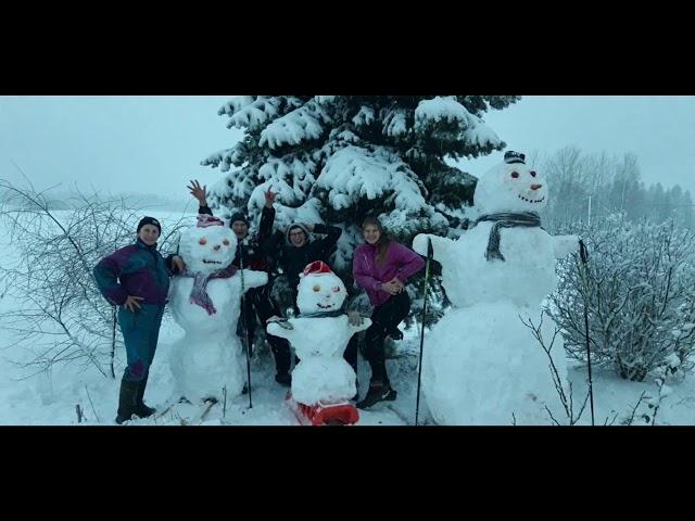 """Kaunatas apvienības pagastos """"Veltiņ veļas Sniegavīri!"""""""