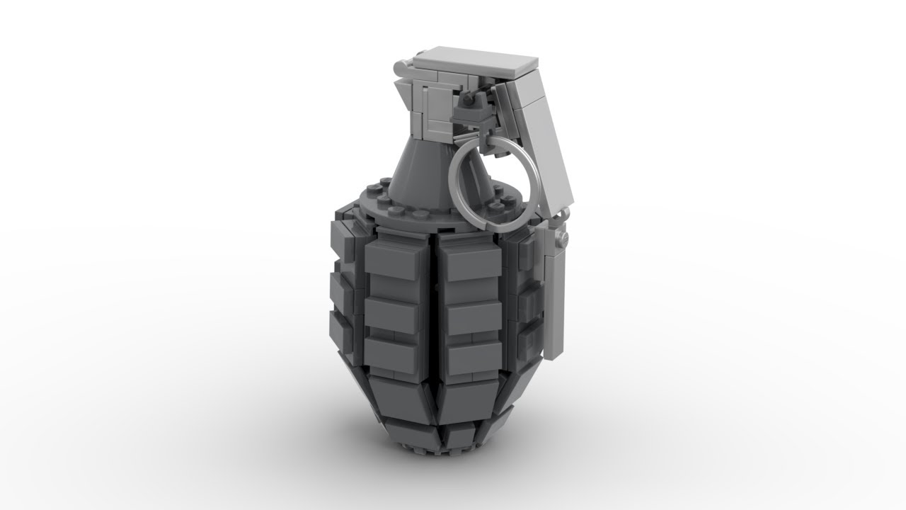 Lego: Frag Grenade Instructions