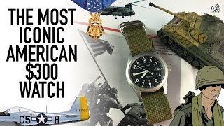 A Military Classic & The Best $300 Swiss Made Field Watch - Hamilton Khaki Mechanical Review