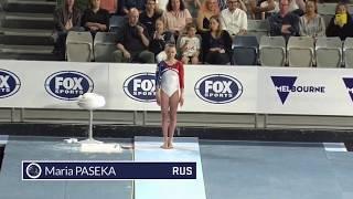 Maria Paseka Vault Event Finals 2020 Melbourne World Cup