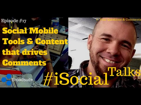 Best Social Apps On Mobile, Content Tips & Influencers Rant #iSocialTalks Ep17