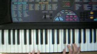 Piano Tutorial - Breaking Free Intro