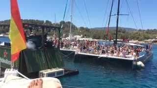 Boat party - Mundo Marino Catamaran. Ibiza junio-2015