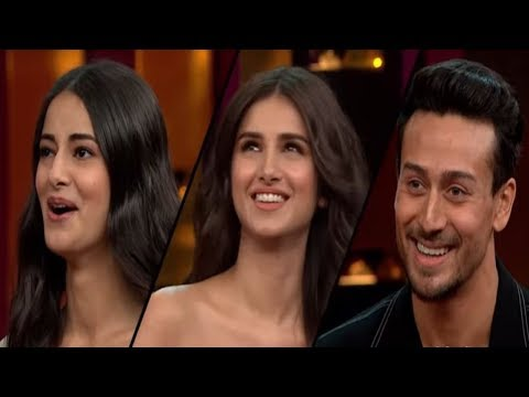 Koffee With Karan: Student Of The Year TEAM- Ananya Pandey & Tiger Shroff   Badla Trailer Mp3