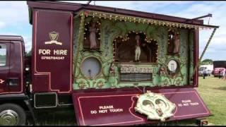 Torbay Steam Fair 2011 (part 18) A Look Inside The Workings Of An Fairground Organ