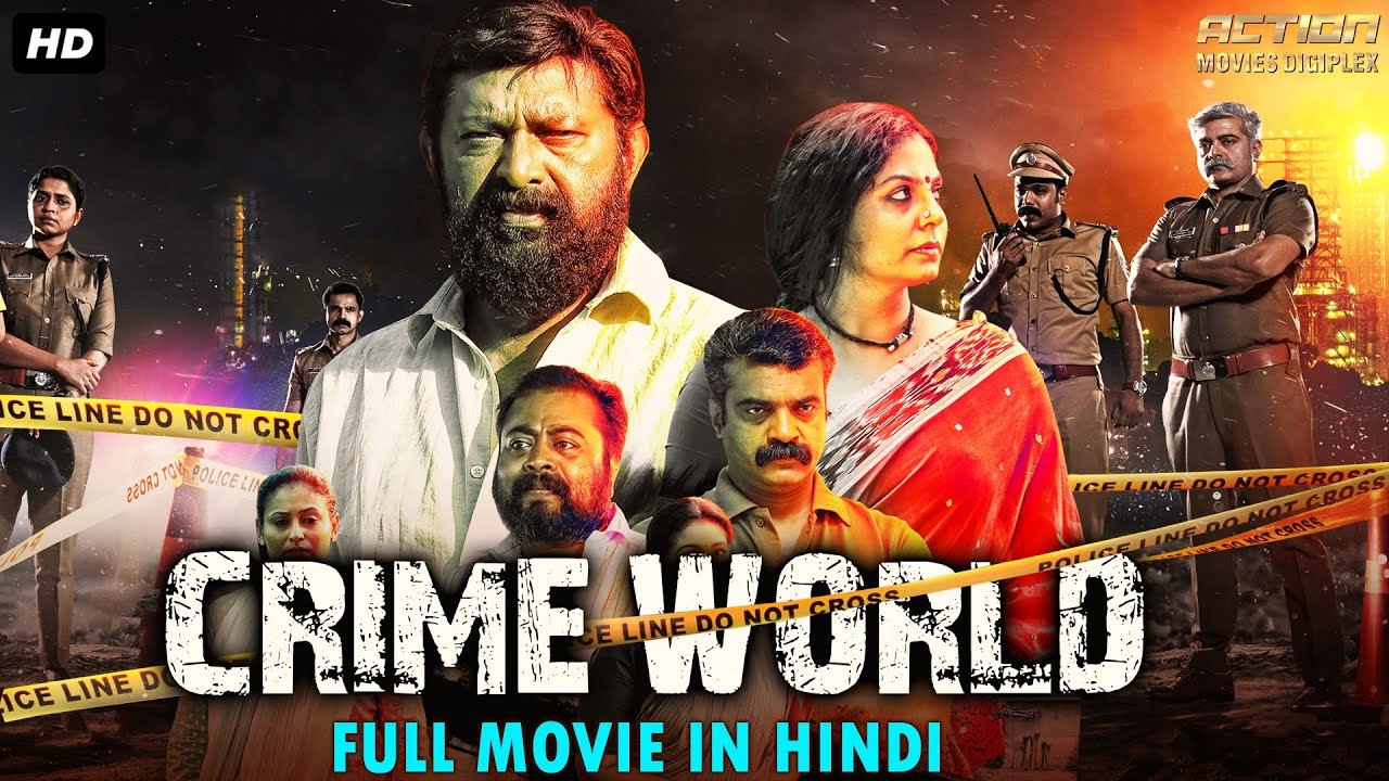 CRIME WORLD - Hindi Dubbed Full Action Romantic Movie | South Indian Movies Dubbed In Hindi Full HD
