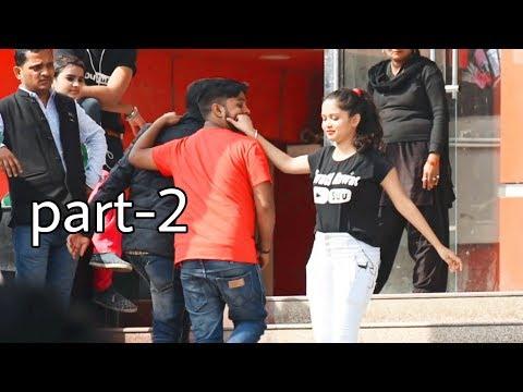 Pulling Strangers Cheeks Part-2 #pulling #Cheek #Prank #Allahabad #GirlPrank #BestPrank#sumit