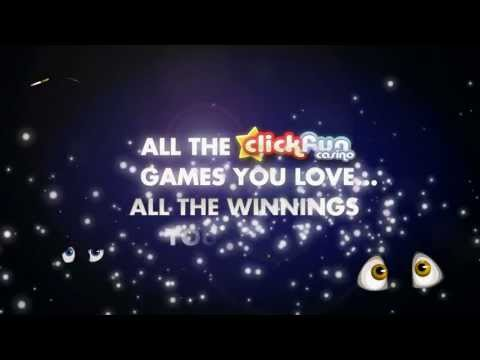 Guess what? You can play Clickfun Casino anywhere, anytime on mobile!