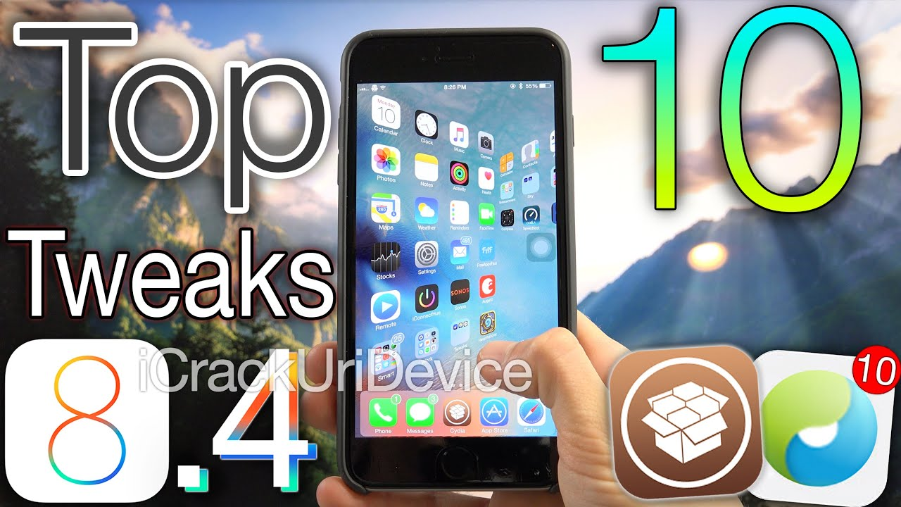 Top 10 iOS 8.4 Cydia Tweaks - Best FREE TaiG 8.4 Jailbreak Pre 8.4.1