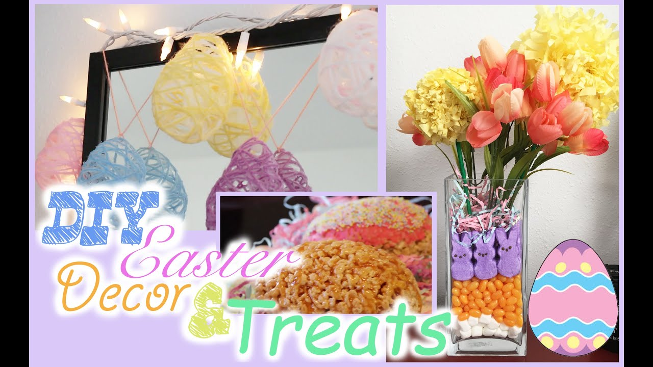 Diy easter room decor youtube for Diy easter room decor