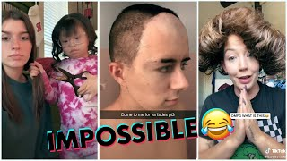 Most Funny Hair Fails Try Not To Laugh 🤣 #2 Tiktok Compilation 2021