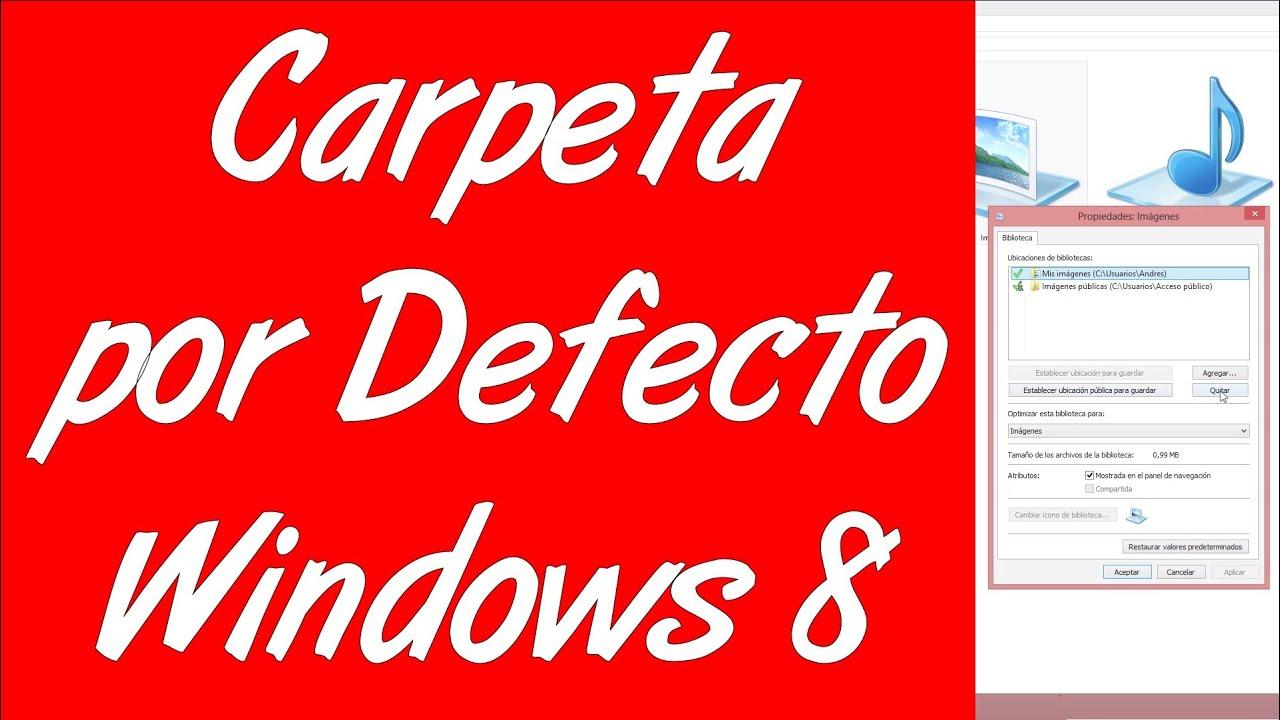 Cambiar Carpeta De Usuario Windows 8 1 Carpet Vidalondon