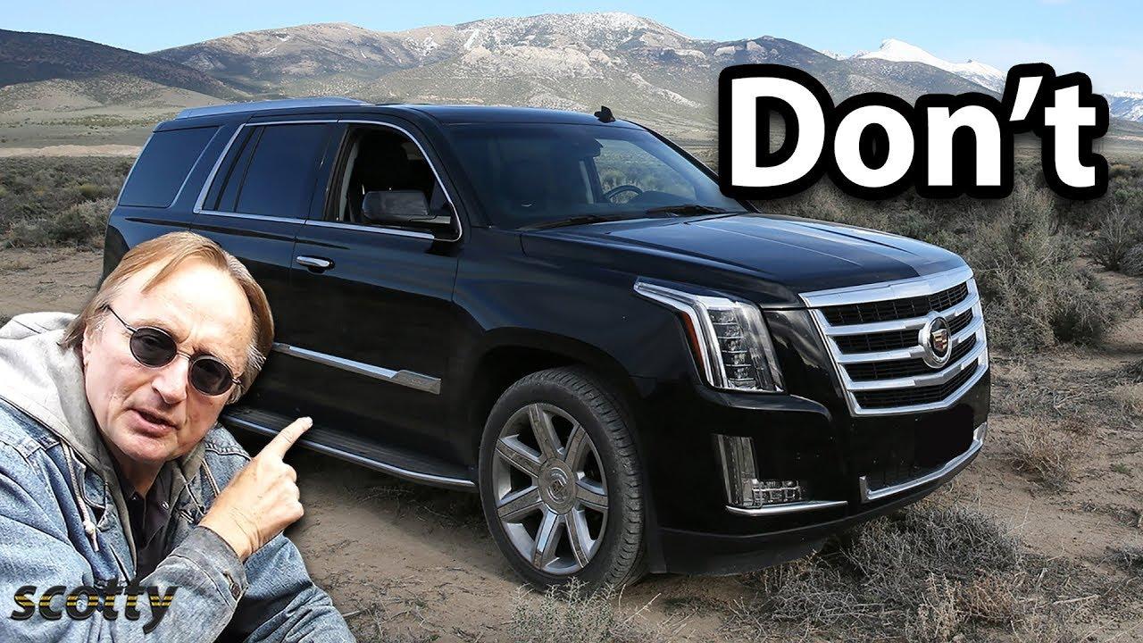 5 gebrauchte SUVs, die Sie niemals kaufen sollten + video