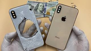 Restoration iPhone X and update to Xs Gold...