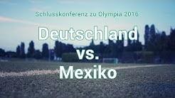 Olympia 2016: Deutschland - Mexiko