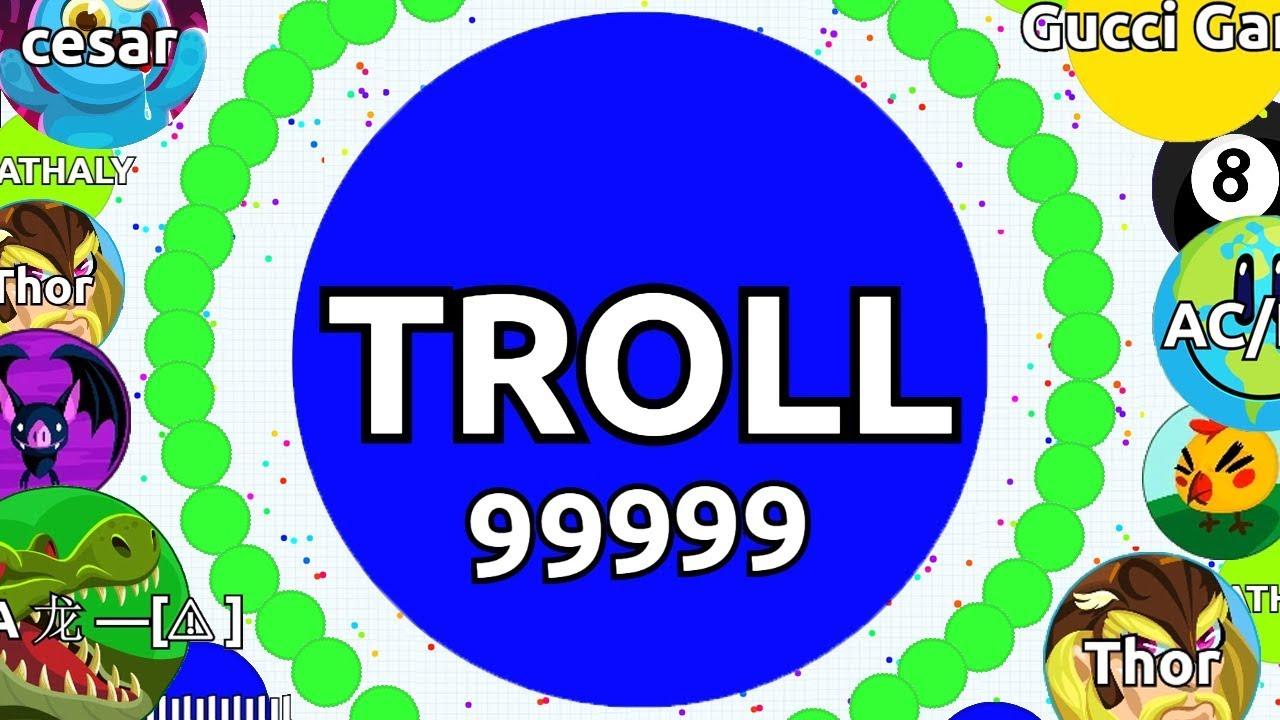 Agar Io Trolling Gone Wrong Intense Solo Agario Gam