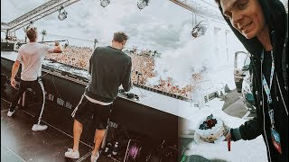 THE CHAINSMOKERS AT WEEKEND FESTIVAL BALTIC 2017
