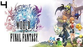 World of Final Fantasy (PC) Gameplay Walkthrough Part 4 - The Watchplains & Giant Goblin Boss Fight