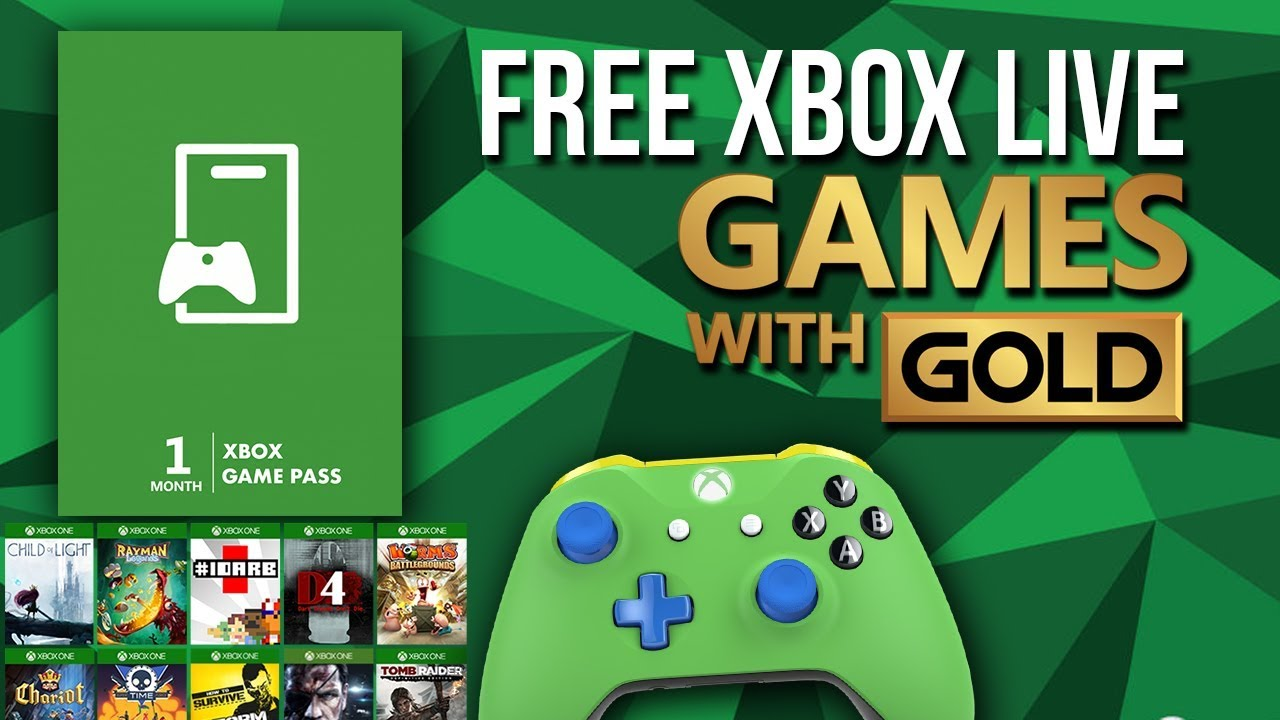 How to Get Free Xbox Live Game Pass 2018 (100+ Games Free) [GIVEAWAY]