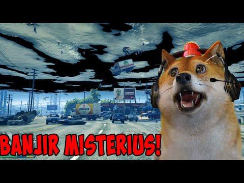 BANJIR MISTERIUS MENYERANG KOTA LOS SANTOS!! - GTA 5 Mod Indonesia