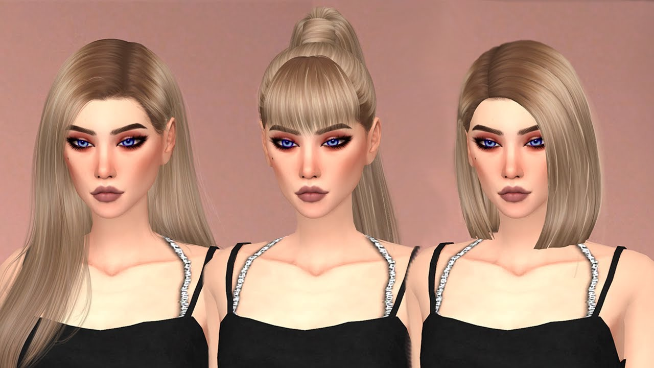 MODS CC HAIR PACK FOLDER FREE DOWNLOAD THE SIMS 4 MALE AND FEMELE