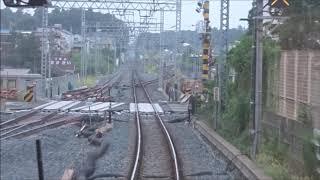 東武アーバンパークライン六実~逆井間複線化工事区間前面展望 2019.8