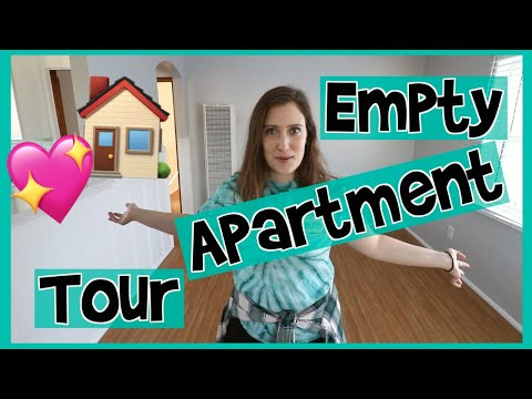 My Empty Apartment Tour! // Sustainable Living