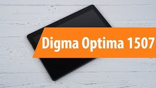 распаковка Digma Optima 1507 / Unboxing Digma Optima 1507