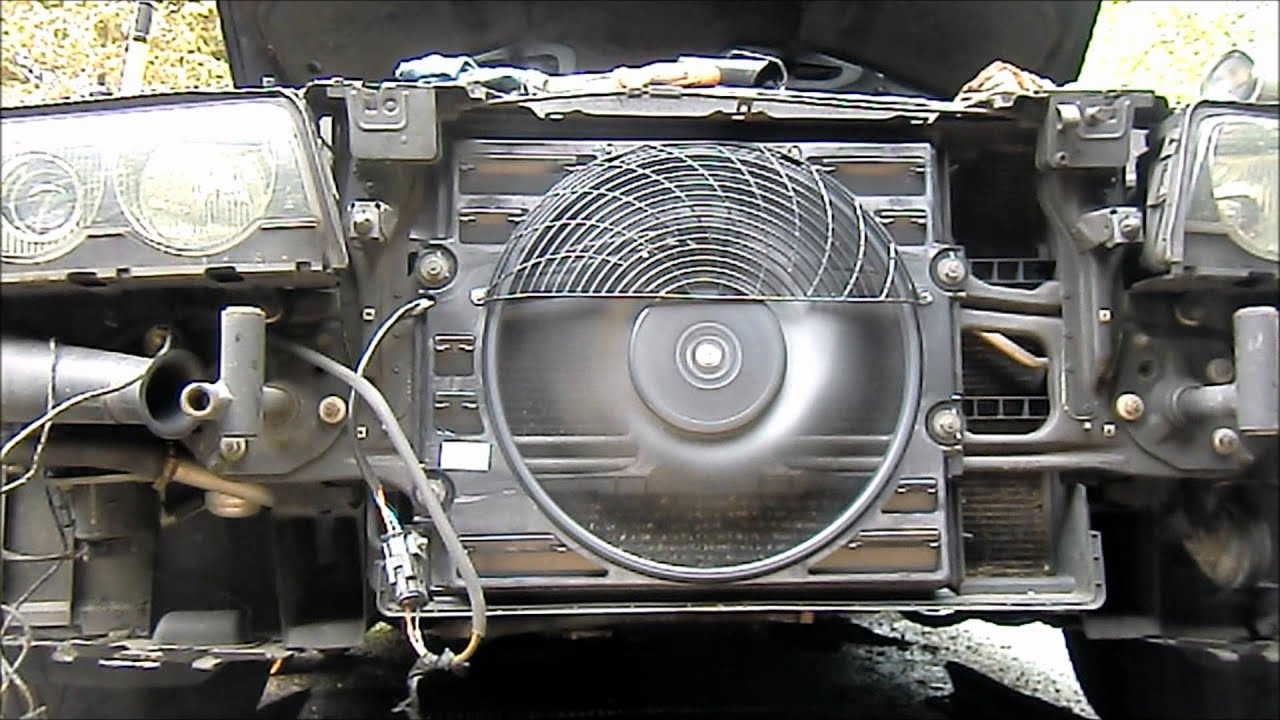 bmw e38 and e39 auxiliary fan test if yours is bad or not