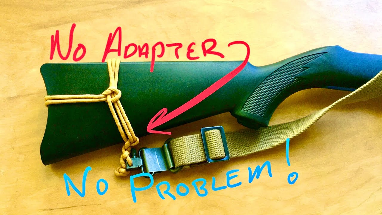 paracord rifle sling instructions