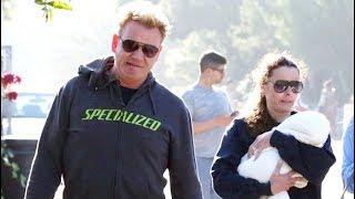 Gordon Ramsay And Wife Tana Introduce New Baby Oscar To The Beach