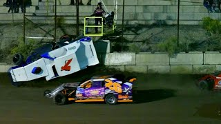 Dirt and Asphalt Racing Crash and Spin Compilation 2018