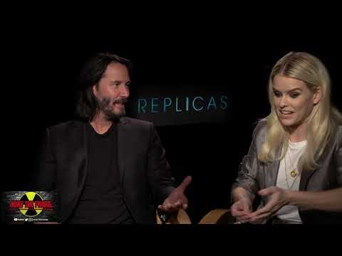 REPLICAS Interview With Keanu Reeves & Alice Eve