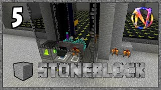 Stoneblock - ep 5 - So Many Project Chests