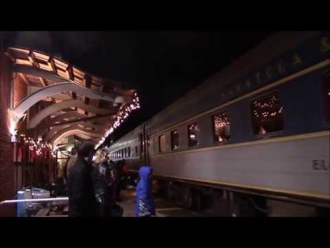 Saratoga and North Creek RR: Polar Express 2015